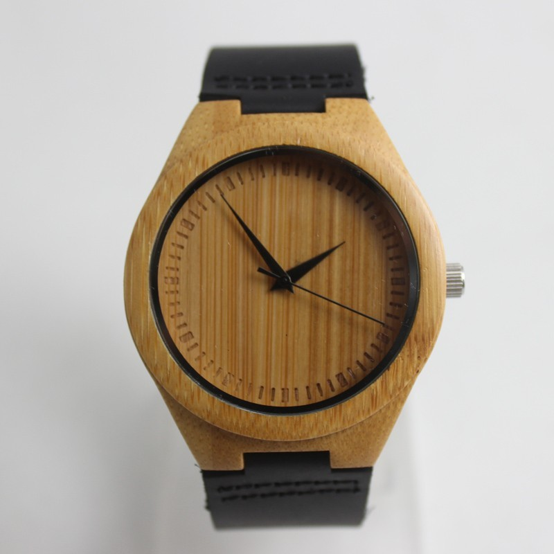 fashion design in wood material for watch